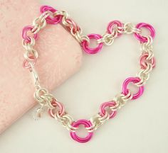 Eye Candy Chainmaille Bracelet Kit  Perfect for by UnkamenSupplies, $25.00