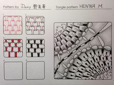 Henna M~Zentangle