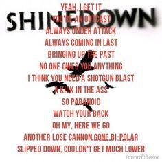 Lyrics to shine down second chance