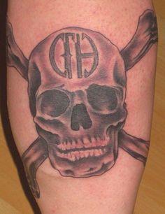 CFH skull tattoo