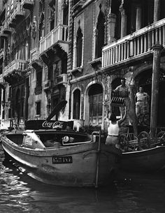 Venice 1950 Photo: David Seymour Explore the World with Travel Nerd Nici, one Country at a Time. http://TravelNerdNici.com