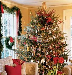 Elegant Christmas Tree | ... of our homes call for elegant and traditional christmas trees stunning
