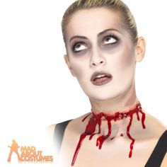 Barbed wire scar slash fake halloween #zombie #fancy #dress wound fx new,  View more on the LINK: http://www.zeppy.io/product/gb/2/161815712760/