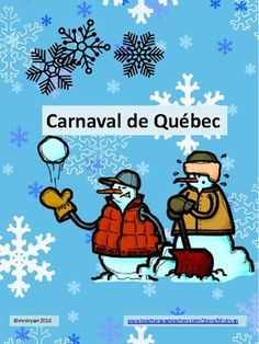Revised: Dec. 27, 2016 to accommodate new look of the Carnaval de Quebec website! Use this one page internet activity to help your students explore the many activities and highlights of the world's largest winter carnival - le Carnaval de Québec! Ranked as one of the top three in the world le Carnaval de Québec has much to offer!