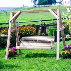 porch swing stand - Google Search