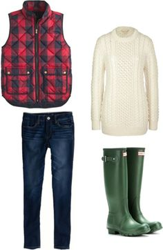 Ways to Wear the J.Crew Buffalo Check Excursion Vest