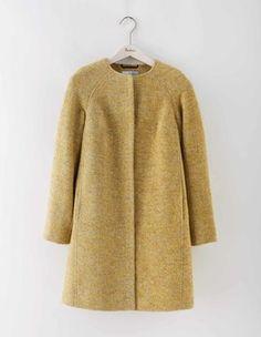 Sienna Herringbone Coat Boden