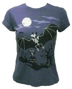 Bat Skeleton Shirt