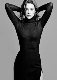 Àstrid Bergès-Frisbey photographed by Mark Abrahams for V Magazine (Summer 2014)