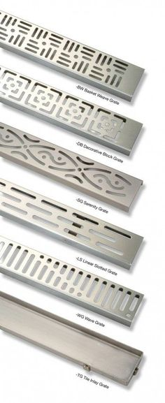 (Zurn Stainless Steel Linear Shower Drains) Channel Drains Are The Way To  Go!