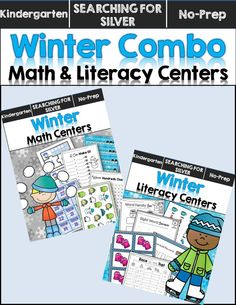 Graphing, ten frames, sight words, addition with 10...and much more! Literacy and math centers combo.