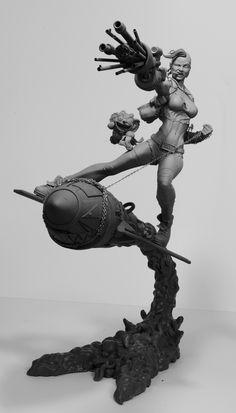 Tank Girl by SKBstudios.deviantart.com on @deviantART