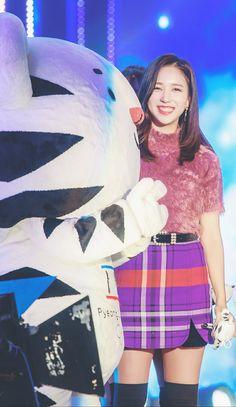 Mina is so cute!