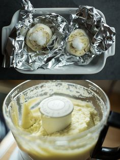 Roasted Garlic Cauliflower Hummus - Autoimmune Paleo