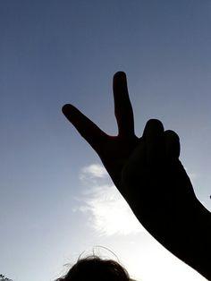 Peace guys:D ♡