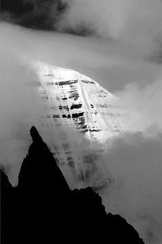 Clearing over Mount Kailash in western Tibet