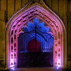 Doorway in St Stephen's Church.   Bristol, England