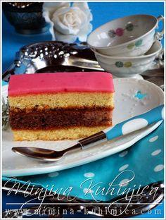 Rum kolac (2) Rum, Let Them Eat Cake, Sweet Recipes, Tiramisu, Recipies, Cheesecake, Deserts, Cooking Recipes, Sweets