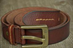 Classic Men Belt Mens Leather Belt Strap Brown by SherryJewelry, $27.00