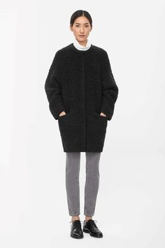 Wool cocoon cardigan from cos