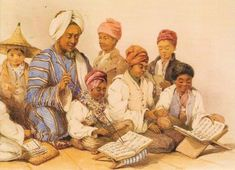 A madrassa run (likely) by an Indonesian or south-east Asian or Arab in the in Cape Town Revelation 16, East India Company, Port Elizabeth, Book People, African History, Ethiopia, Cape Town, South Africa, Antiques