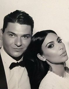 Kim K Wedding Makeup