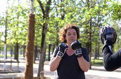 Vous sentez la motivation dans ce regard ?! ;)   #Vitalchallenge #défi #sport #boxe   Crédit photo : Aurélie Michel