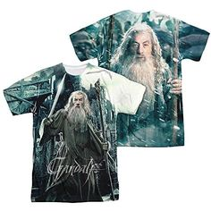 The Hobbit - Men's T-shirt Gandalf design - http://bandshirts.org/product/the-hobbit-mens-t-shirt-gandalf-design/