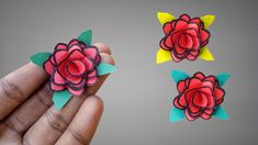 In this video, you'll learn How To Make Small Paper Rose Easy Step By Step.Many people want to know about How To Make Small Paper Rose That Easy To Make At H. Paper Craft Work, Easy Paper Crafts, Episode 3, Paper Roses, How To Make, Diy, Bricolage, Paper Crafts, Handyman Projects