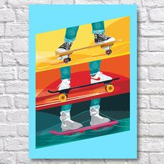 Back to the Future Poster - Back to the Future Art Print - Marty McFly Poster Our wall art posters and prints are made using the highest quality materials, using tried and tested paper and ink in the highest quality A3 printer on the market. FRAME NOT INCLUDED QUALITY AND DETAILS Paper: All posters are printed on highest quality Photo Lustre 260gsm paper. Its instant dry, fade resistant micro-porous coated heavyweight RC paper which is acid free and water resistant. #bttf...