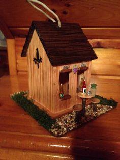 Winery bird house