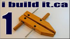 Video 1 of 4. Read About them here: http://www.ibuildit.ca/Workshop%20Projects/hand-screws-1.html