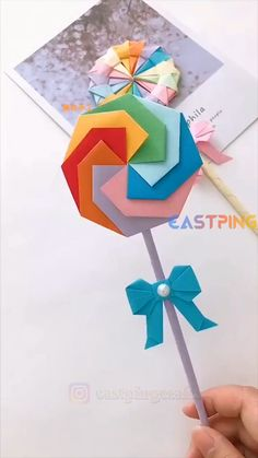 Boy Diy Crafts, Diy Crafts For Gifts, Diy Crafts Videos, Creative Crafts, Crafts For Kids, Instruções Origami, Paper Crafts Origami, Easy Paper Crafts, Origami Videos