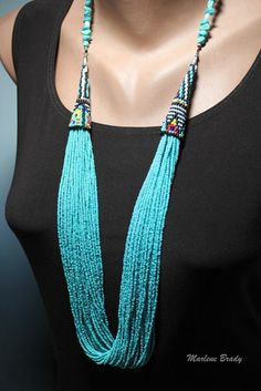 It's All About Creating Beaded Necklace