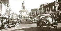 Fayetteville, North Carolina, downtown, circa 1900's.