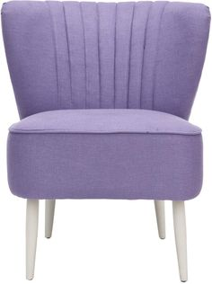 Pretty Lavender Chair Home Sweet Home Upholstered