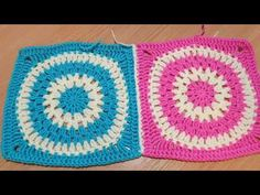 Spájanie štvorcov priznanou háčkovanou retiazkou - 2 - YouTube Crochet Granny, Magick, Blanket, Youtube, Hexagons, Granny Squares, Houses, Crochet Pattern, Witchcraft