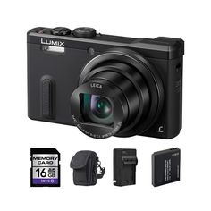 Panasonic ZS40 Digital Camera and 16GB SD Card Bundle