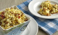 Gluten Free Lunch Box Idea: Bacon and Egg Salad Recipe