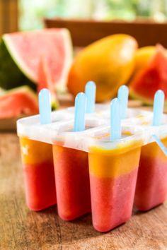 Svelte salivations: Watermelon and Mango Ice Blocks