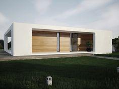 PATIO house project, minimalist house, contemporary architectureLINE STUDIO