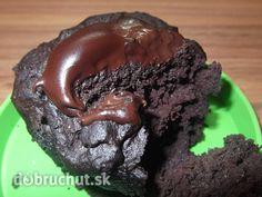 Fotorecept: Raňajkový čokoládový muffin z mikrovlnky