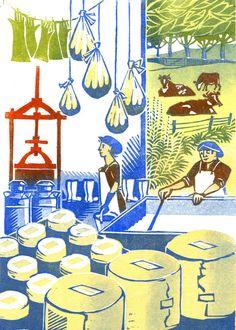 Clare Melinsky | Illustrator | Central Illustration Agency #illustration #print #printmaking #linocut Illustrators, Design, Illustration, Clare, Linocut, Graphic Design, Art, Prints, Scenery