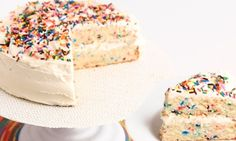 In this episode of Laura in the Kitchen Laura Vitale shows you how to make Confetti Birthday Cake!