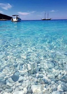 Look at these clear waters in Ithaca, Greece! : Look at these clear waters in Ithaca, Greece! Dream Vacations, Vacation Spots, Vacation Days, Places To Travel, Places To See, Travel Destinations, Ithaca Greece, Destination Voyage, Travel Goals