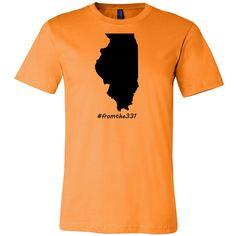 Illinois FromThe331 Tee