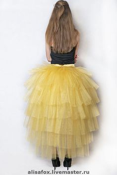 Юбки ручной работы. Ярмарка Мастеров - ручная работа Шлейфы из фатина, юбки - пачки. Handmade.
