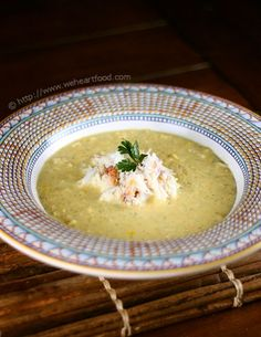 Crab and Corn Bisque