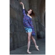 #fbf Lydia Haug @loveslug83 strutting her stuff in Parker Blue cashmere around NYC photographed by @MarissaKaiser #parkerblue #cashmere #nyc #newyork #ballet #dance #fashion #design #womenswear made in #Nepal