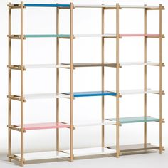 Shelves / A+R. Would love to replicate this with the GORM shelving unit.